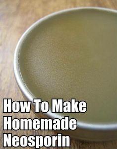 DIY Homemade Salve