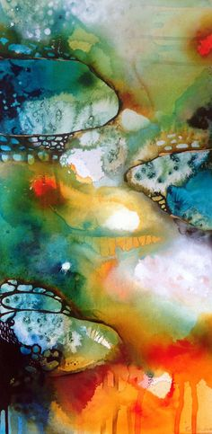 Tracy Verdugo.2014. Deep Rhapsody. (panel 3 of triptych). sold. http://artoftracyverdugo.blogspot.com
