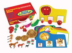 Comparing Sizes Concept Kit at Lakeshore Learning 29.99