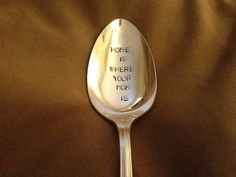 Something about the spoon resonates with me:)