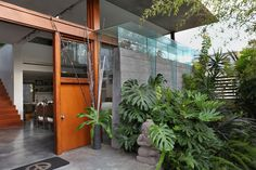 Touring Airplane House Architect David Hertzs Personal Home - Curbed Inside - Curbed LA