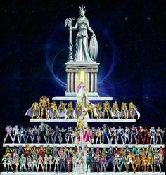 Atena e seus cavaleiros