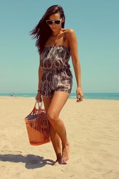 Must have for the beach - cute little romper!