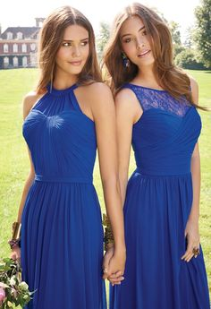 Lace Illusion Neckline Dress from Camille La Vie and Group USA