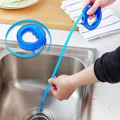 Home & Kitchen Accessories: Keep your kitchen and #BathroomDrains running smoothly with Drain sink cleaner Brushes Tool. Offer Price: Rs.134 only