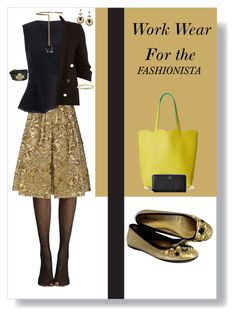 """""""Work wear for the fashionista"""" by momma2theking on Polyvore featuring Prada, River Island, STELLA McCARTNEY, Rachel Rachel Roy, Lisa Freede, Deux Lux and Kate Spade"""