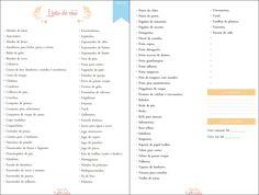 Lista de chá