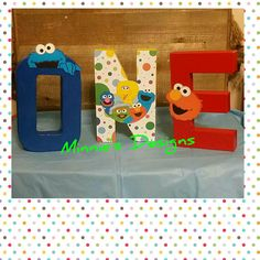Check out this item in my Etsy shop https://www.etsy.com/listing/587826911/sesame-street-1st-birthday-sesame-street