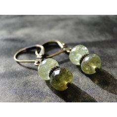 Peridot Gemstone Earrings, Dangle Earrings, Jewelry, Accessories,... ($30) ❤ liked on Polyvore featuring jewelry, earrings, long earrings, gemstone earrings, bohemian jewellery, gemstone jewelry and gem earrings