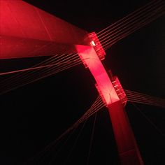 Willemsbrug by night. Rotterdam - the netherlands. Photo taken by me.