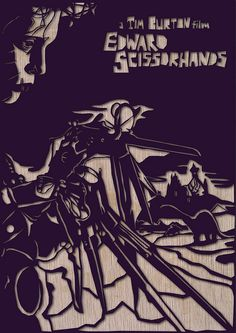 Edward Scissorhands - By heartstrand.co.uk