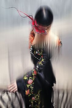 Nick Knight captures model Liberty Ross as she showcases the delicate and incredible contents of Isabella Blow's wardrobe  October Vogue Alexa New Issue Cover Enchantment (Vogue.com UK)