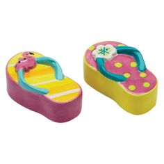 Have to have it. Boston Warehouse Sunshine Sandals Salt and Pepper Shakers - Set of 2 - $17.99 @hayneedle