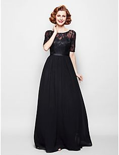 Mother of the Bride Dress Half Sleeve Chiffon/Lace A-line Dress. Get superb discounts up to 70% Off at Light in the box using Mother's Day Promo Codes.