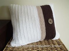 Ribbed Cushion Cover