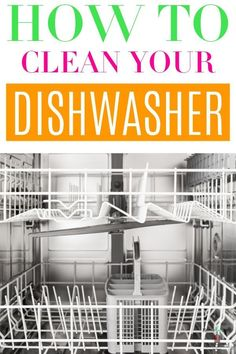 During the course of being used, your dishwasher collects build up of food particles, grease, and even soap scum. All of these things cause your dishwasher to not only be less efficient but also could lead to it smelling bad, and looking pretty gross too. #homebyjenn #dishwasher #deepcleaning #cleaningtips