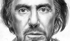 Al Pacino Pencil Art