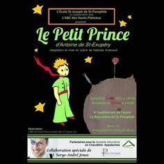 Aujourd'hui et demain à Saint-Pamphile...Un rappel du #PetitPrince
