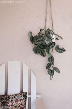Maceta colgante diy con yute, madera y latón Haz tu propia maceta colgante diy con este tutorial paso a paso y llena tu casa de plantas   ...