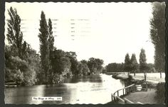 The River at Iffley - Oxfordshire - RP - Ref 43-369   eBay