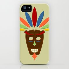 Mask iPhone Case by Pedro Nogueira - $35.00