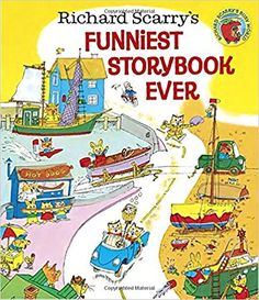 Richard Scarry's Funniest Storybook Ever!: Richard Scarry: 9780385382977: Amazon.com: Books