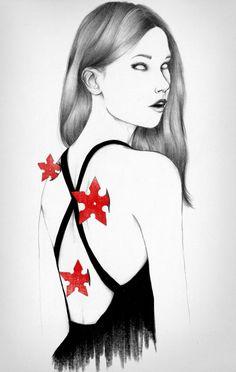 Back Stabbers by Peony Yip, via Behance