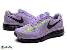new styles 04a5a 2834c nike air max 2014 purple running shoes 69usd free shipping Women nike air  max 2014 purple black running shoes online sale,this sneaker size us5.5 to  us8.5 ...