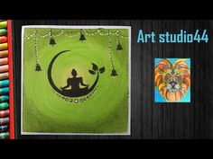 How to Draw Lord Buddha with Oil Pastels step by step Oil Pastel Art, Oil Pastel Drawings, Oil Pastels, Buddha, Lord, Make It Yourself, Youtube, Lorde