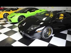 Amazing Exotic Car Collection
