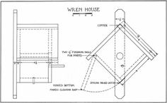 woodworking free plans: bird house plans for wrens