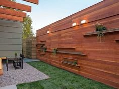 Modern Horizontal Wood Fence Panels With Wall Lamp Amazing Horizontal Wood Paneling On Walls