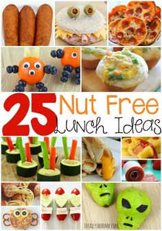 25 Delicious Nut-Free School Lunch Ideas