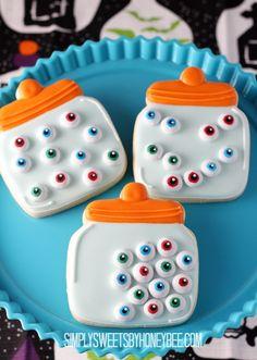 Eyeball Jar Cookies