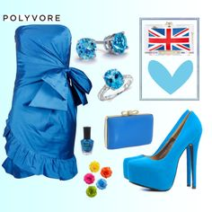 """blue"" by janndia on Polyvore"
