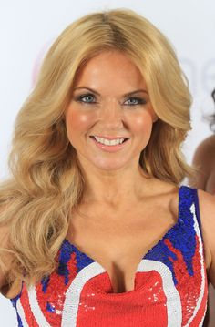 Billedresultat for geri halliwell David Sinclair, Union Jack Dress, Baby Spice, Geri Halliwell, Amanda Holden, Shes Perfect, Shorts With Tights, Spice Girls, Female Singers