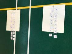Bewegend splitsen tot 10 | Juf Joycella School, Circuit