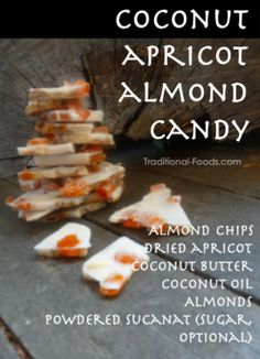 Coconut Apricot Almond Candy