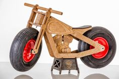 Items similar to Birch plywood balance bike HOOG / wooden / wood / kids toy / wood toy / outdoor / balance bike / Laufrad / pushbike / loopfiets / løbecykler on Etsy - Spielzeug Wooden Bicycle, Wood Bike, Kids Bicycle, Wood Kids Toys, Wood Toys, Toy School Bus, Gingerbread House Kits, Balance Bike, Diy Holz