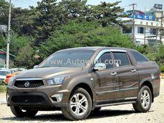 2012 Ssangyong Korando Sports CX7 4WD M/T