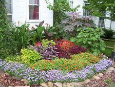 Flower Bed Ideas Front Of House ideasdecoracioninteriores.com 1