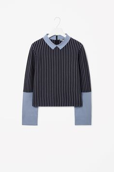 COS | Contrast stripe jumper