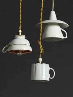 csészéből lámpabúra