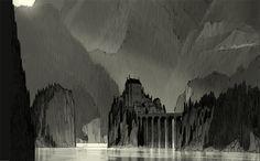 Ushuaia: Castle Landscape.