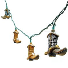 Cowboy Boot Decorative String Lights... deff gunna be at mine and mikes wedding lol