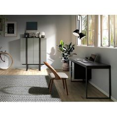 Get inspired with modern room ideas and photos for your home refresh or remodel. Wayfair offers thousands of design ideas for every room in every style. Patio Ideas Ireland, Modern Room Design, Office Table Design, Buffet, Buy Desk, Small Backyard Gardens, Curtain Designs, New Homes, House Design