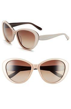 Lilly Pulitzer® 'Mae' 60mm Polarized Sunglasses