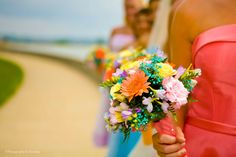 colorful wedding flowers - Google Search