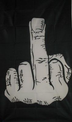 "The Bird Flag, 36x60 Fuck You anarchy Finger banner by BikerFlags. $9.99. FlagDistributor does not necessarily endorse any meanings or connotations you may assign to this or any other flag, ""Meaning, like beauty, is in the eye of the beholder."" We support the spirit of the 1st Amendment to the U.S Constitution; Censorship is UnAmerican and we don't practice it. Over 1,000 different designs in stock, perhaps the largest selection of flags in the ..."
