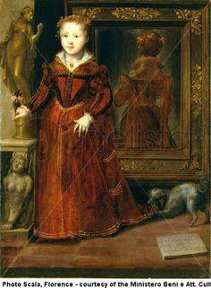 Wow what a wonderful back view!  mazzola bedoli portrait of anna eleonora sanvitale galleria nazionale